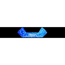 Магнитные вставки Blue Glitter на стремена Safe-on от Flex-on